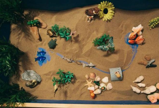 Детская песочная терапия
