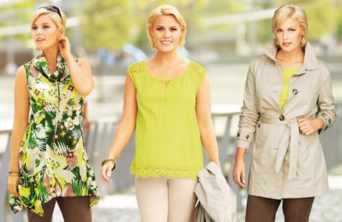 Дизайнеры Quelle разбавили традиционный стиль сафари нежно-зелеными нарядами
