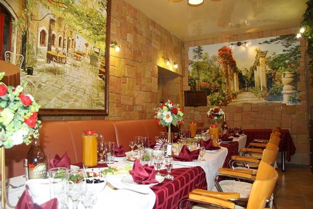 Ставрополь, кафе «Глория», банкетный зал «Душевный»