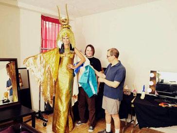 Хайди Клум (Heidi Klum) в костюме Клеопатры