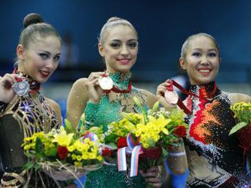 Дарья Кондакова, Евгения Канаева, Алия Гараева