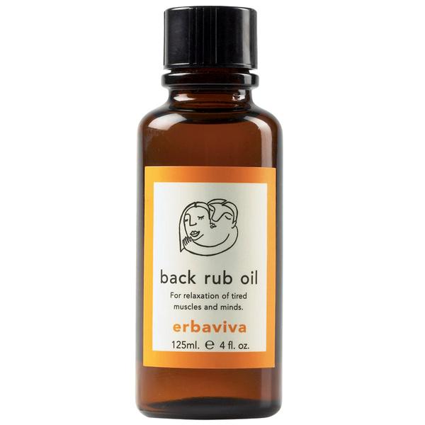 Масло для массажа Back Rub Oil, Erbaviva