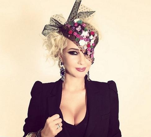Лера Кудрявцева - звездный макияж