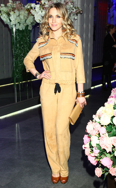 Юлия Ковальчук на вечеринке клуба Royal Arbat