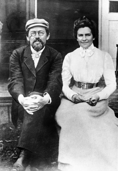 Антон Чехов и Ольга Книппер