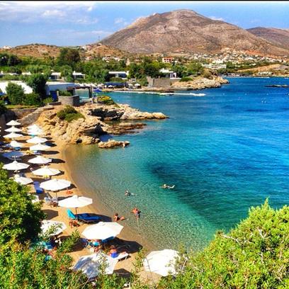 Дитковските и Чадов отдыхают в Греции