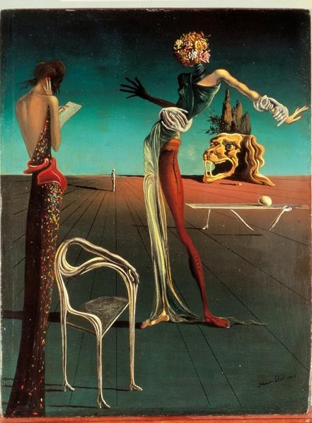 «Женщина с головой из роз», Сальвадор Дали, 1935