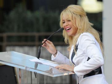 Шакира (Shakira) получила звезду на Аллее славы