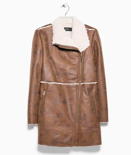 Дубленая куртка Mango, 5499 р.