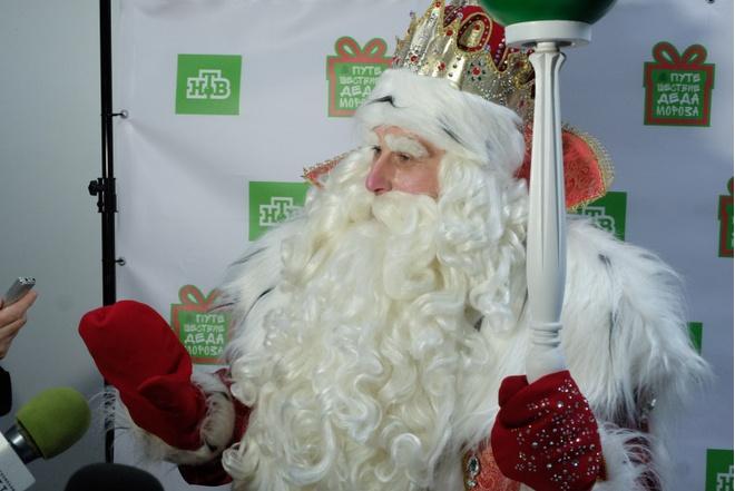 В Пермь приехал главный Дед Мороз