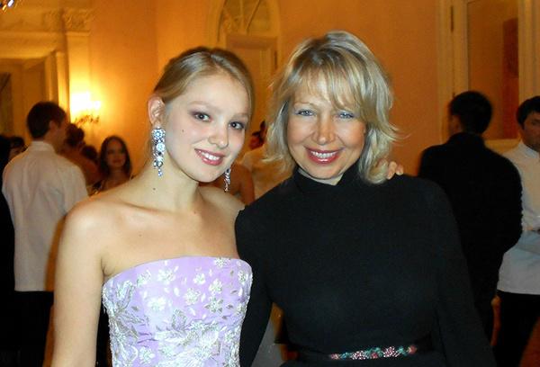 Кристина Кусакина с мамой