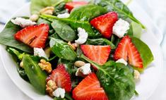 Салат со шпинатом – зеленый и бодрый