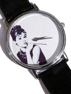 Часы с изображением Одри Хепберн, Mitya Veselkov