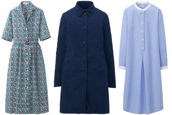 Платья и пальто Ines De La Fressange Paris - Uniqlo