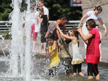 В выходные синоптики прогнозируют очень жаркую погоду