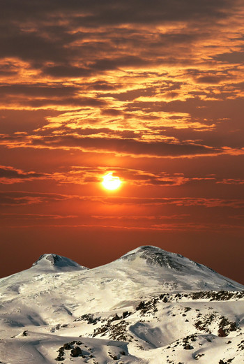 Гора Эльбрус (Кабардино-Балкария, Карачаево-Черкесия)