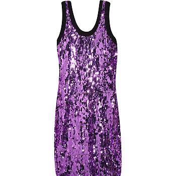 Платье, расшитое пайетками