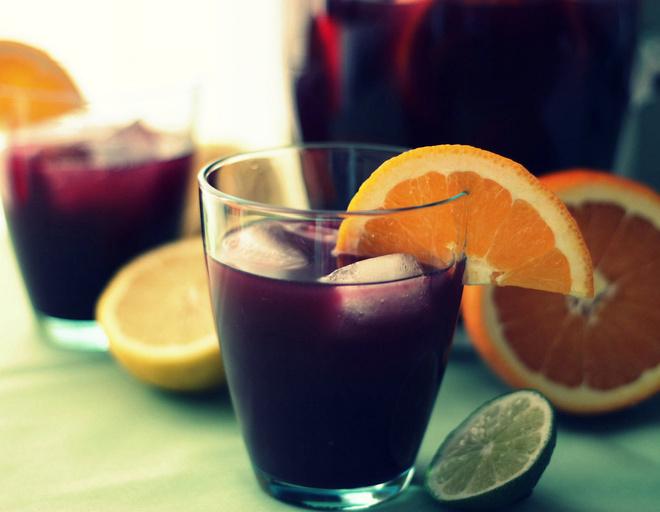 коктейли из вина рецепты
