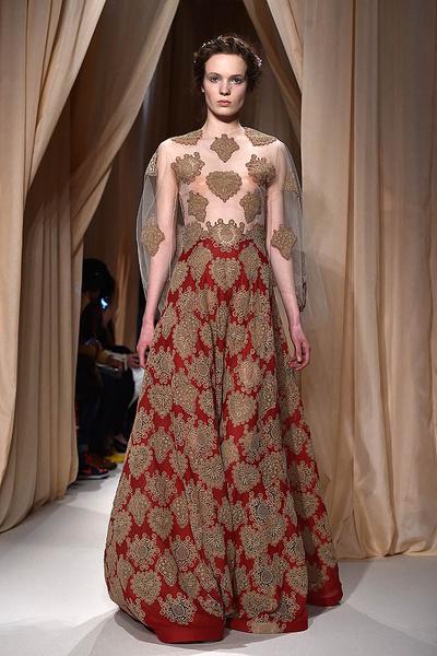 Показ Valentino Haute Couture | галерея [1] фото [10]