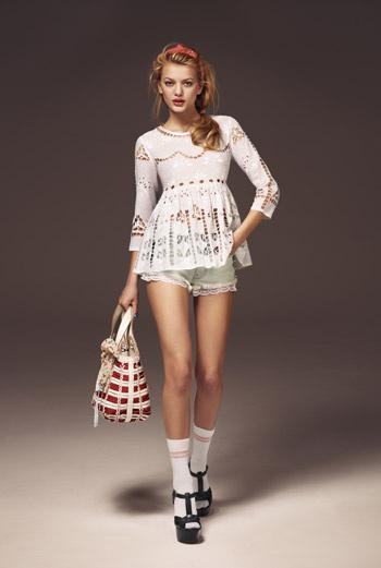 Модели одежды из коллекции Topshop
