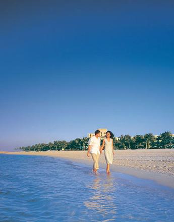 Пляж отеля Jebel Ali Golf Resort&Spa