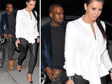 Ким Карлдашьян (Kim Kardashian) и Канье Уэста (Kanye West)