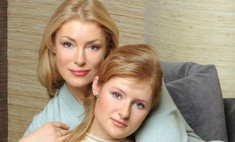 Анна Шукшина крестила сына