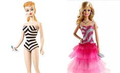 Как менялась внешность Барби: c 60-х годов до наших дней