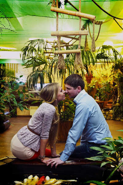 День всех влюбленных в «Парке бабочек», фото