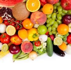 Фруктово-овощная диета - насыщение организма витаминами и быстрое похудение