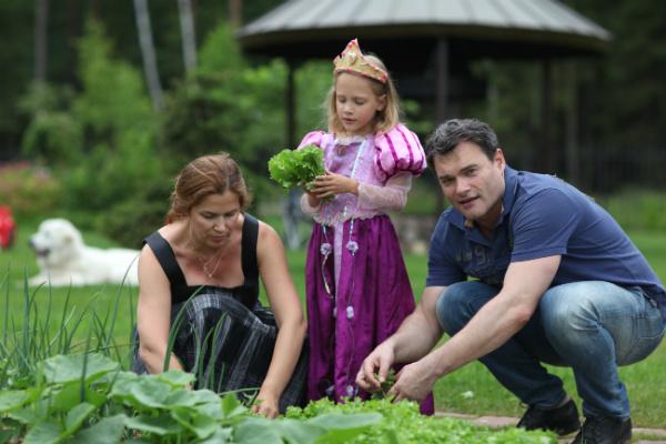 Евгений Дятлов и дочь Василиса: фото