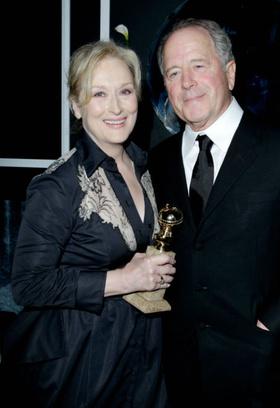 Мерил Стрип с мужем Доном Гаммером, 2012 год