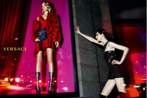 Бренд Versace представил новую рекламную кампанию