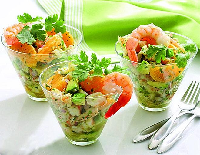оливье рецепт с морепродуктами