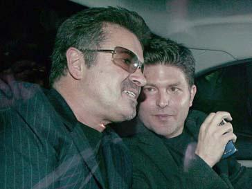 Джордж Майкл (George Michael) и его любовник Кенни Госс (Kenny Goss)