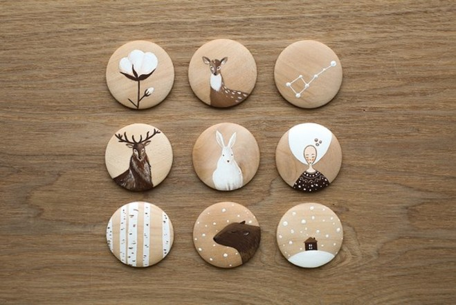 Деревянные брошки своими руками как сделать