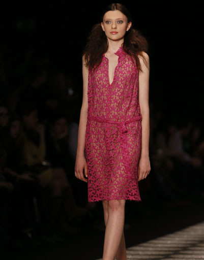 Mercedes-Benz Fashion Week Russia: Ольга Бровкина весна-лето 2014