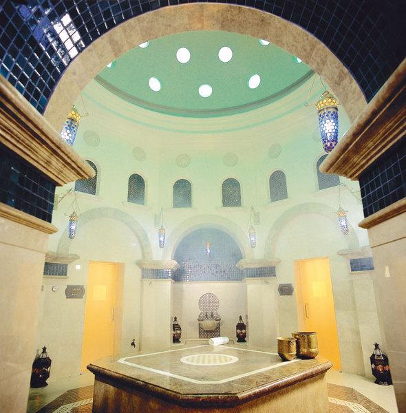 Хаммам отеля One&Only: размах и величественность.