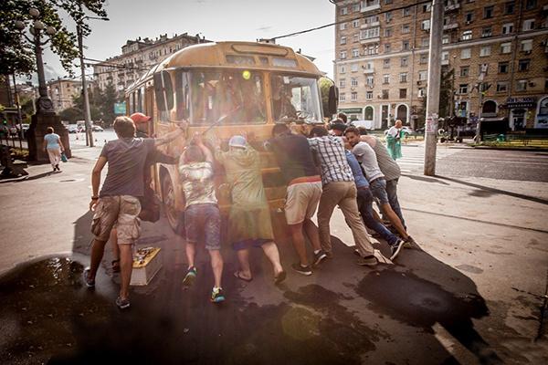 Павел Санаев о съемках комедии «Полное превращение»