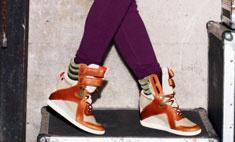 Алиша Кис создала модные кроссовки для Reebok
