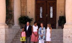 Мишель Обаму проводили по-королевски