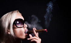 Количество курящих женщин в Москве выросло в 6 раз