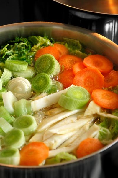 Овощной суп от Синди Кроуфорд.