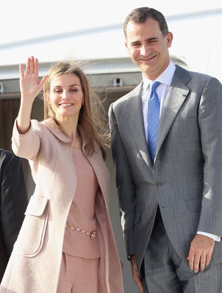 Королева Летисия и король Фелипе VI