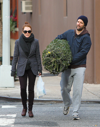 Джулианна Мур (Julianne Moore) с мужем