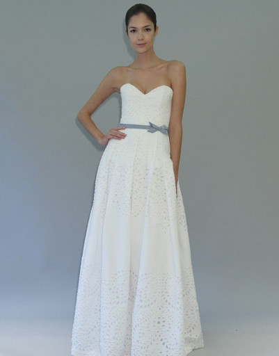 Свадебное платье Carolina Herrera, коллекция весна-лето 2012