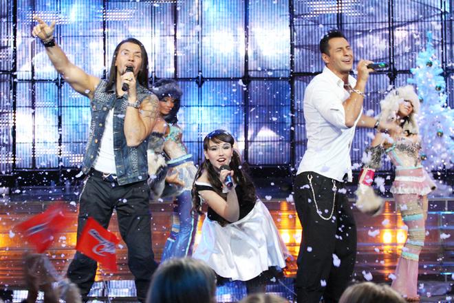 Группа «Чай вдвоем» в гостях у шоу «Минута славы».