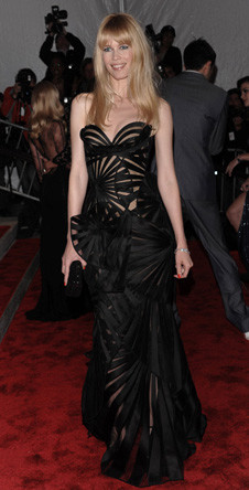 Клаудиа Шиффер в Versace