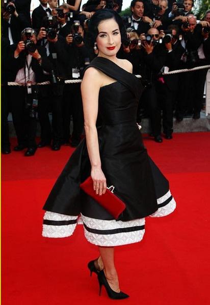 Дита Фон Тиз в Christian Dior