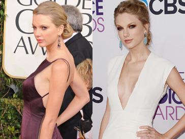 Грудь Тейлор Свифт (Taylor Swift) стала выглядеть пышнее